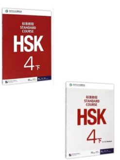 hsk 4b textbook+workbook