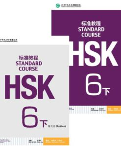 hsk 6b textbook+workbook